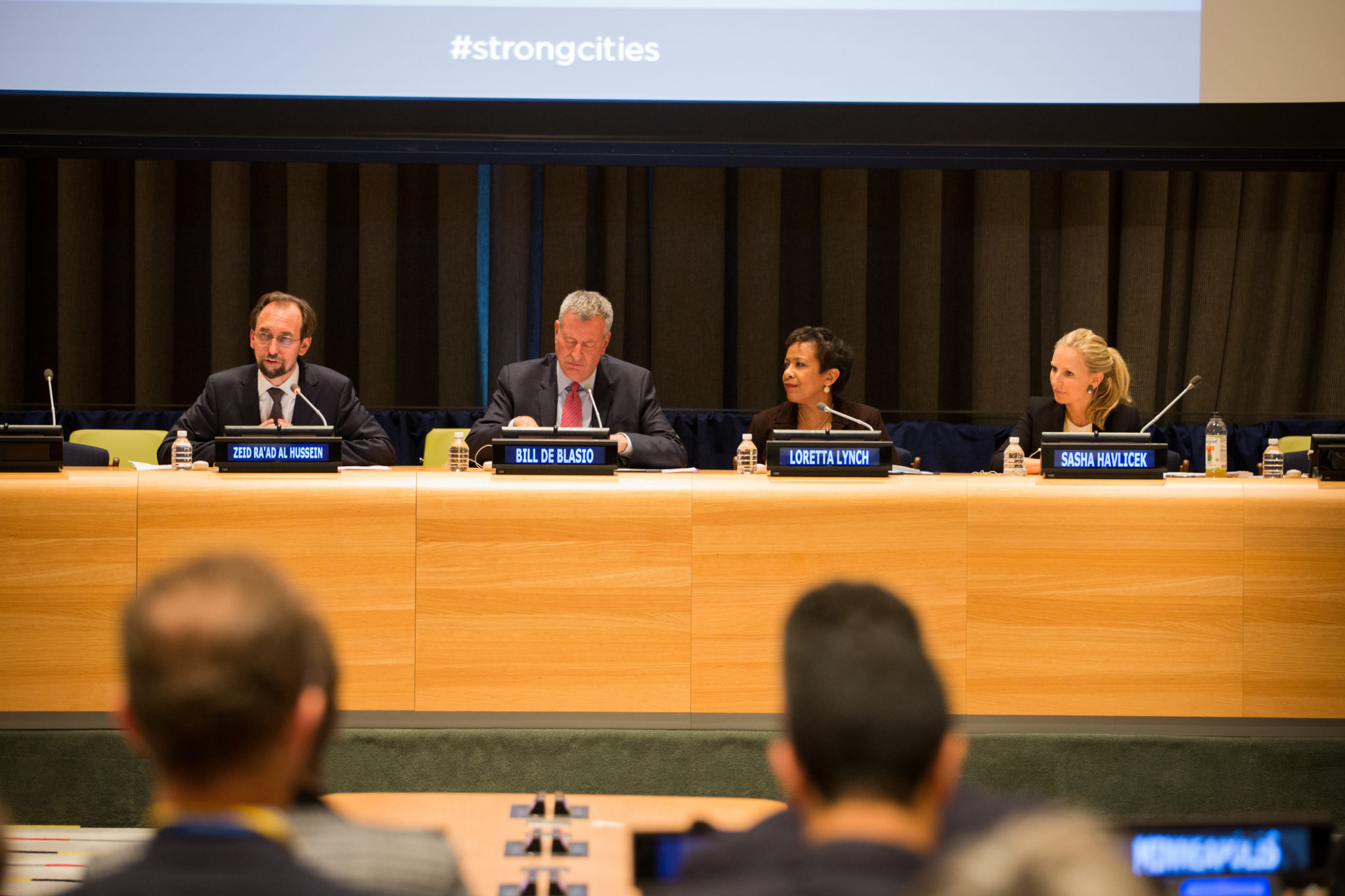 SCN launches at the UN General Assembly 2015