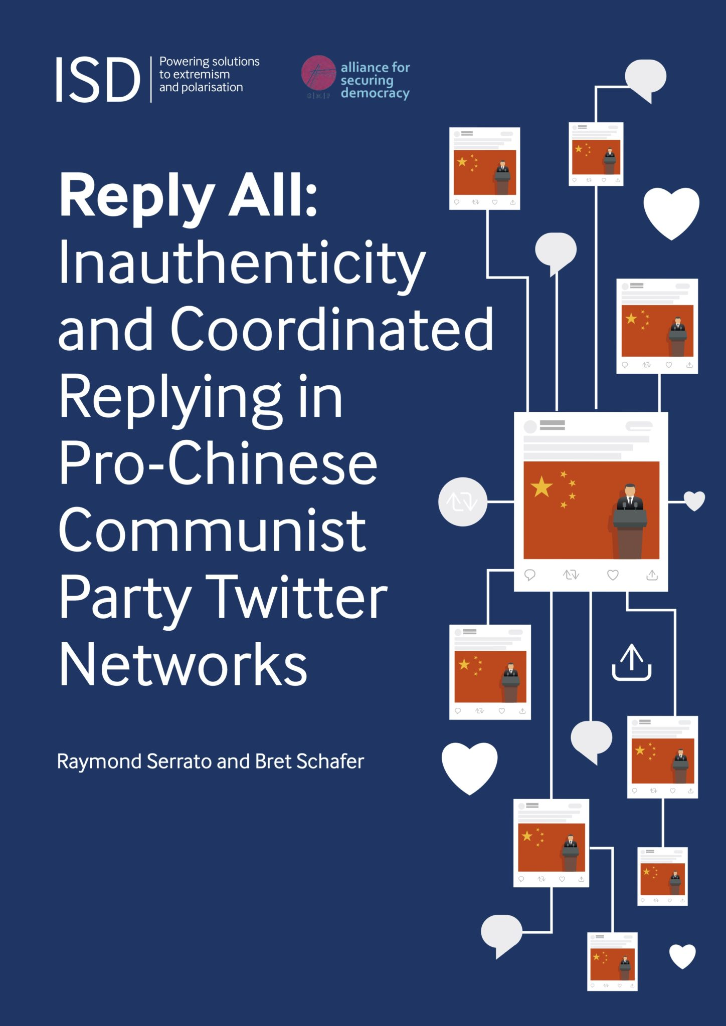 Reply All: Inauthenticity and Coordinated Replying in pro-Chinese Communist Party Twitter Networks